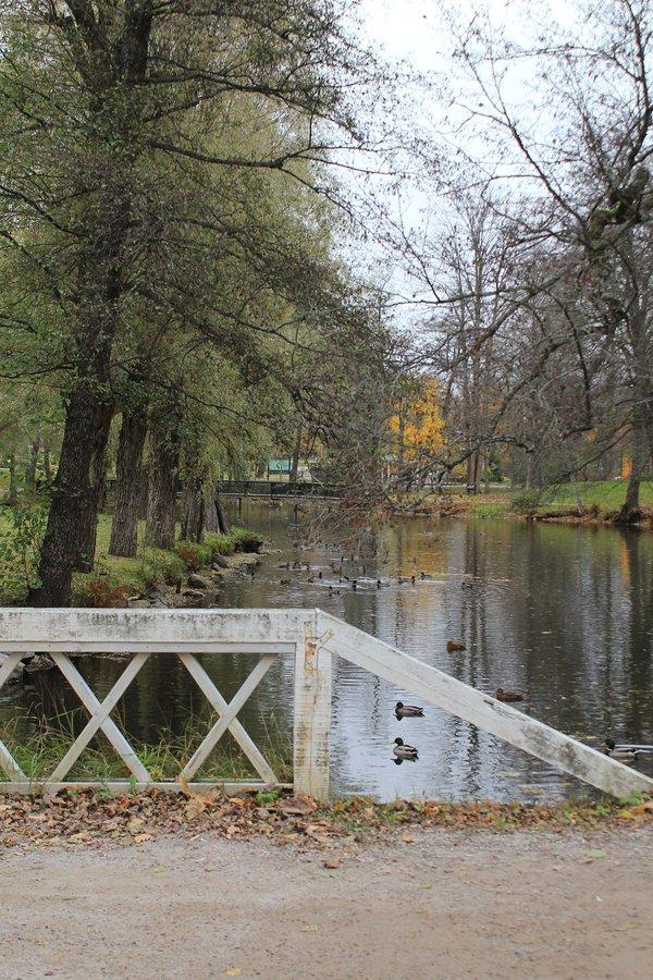 Fiskarsin ruukin puisto ja joki