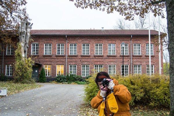 Hotelli Tegel Fiskarsin kylässä
