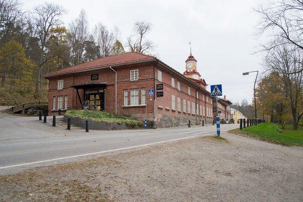 Tornikellorakennus Fiskarsin Ruukissa